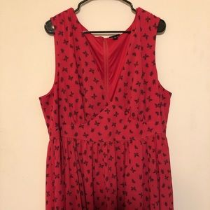 Mid length butterfly dress size 20